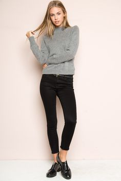 Brandy ♥ Melville | Sydney Turtleneck Sweater - Sweaters - Clothing