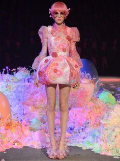 1-Romance Was Born Disney Cinderella Alice Australia Fashion Week 10