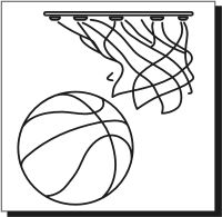 basketball pattern template - Bing Images