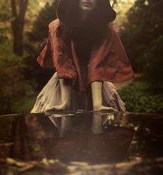 by Rocio Montoya, via Flickr. Red Riding Hood.