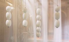 Claesson Koivisto Rune's 'Grappa' light for Wonderglass takes inspiration from grapes hanging on a vine