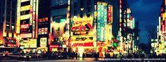 Illuminated sign at Tokyo - Shinjuku www.archicom4.com