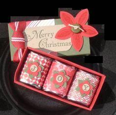 Christmas Craft Fair, Christmas Favors, Stampin Up Christmas, Christmas Paper, Christmas Candy, Handmade Christmas, Xmas, Craft Items, Craft Gifts