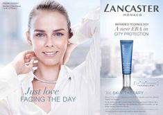 Image result for lancaster products advert Spa Logo, Lancaster, Just Love, Therapy, Face, Products, The Face, Healing, Faces