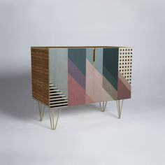 Mareike Boehmer Geometry Blocking 9 Credenza | DENY Designs Home Accessories