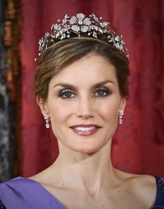 Queen Letizia - tiaras | Royal Roaster