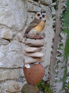 Genius Loci, Rust, Owl, Bird, Owls, Birds