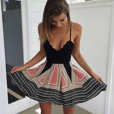Lovely dress for a first date! Zefinka.com