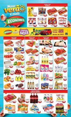 Catálogo de promoções de Supermercado Econômico  #de23a29janeiro2017 #macae #facebairro #fb