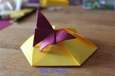 Scatolina / Card  Farfalla personalizzabile