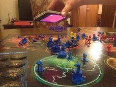 Risk Starcraft Edition. Тусовка у Вани на планете. Тыц-тыц-тыц