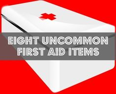 Generally speaking, I have a fairly decent first aid kit. It includes everything from a large variety of bandages to pain killers, antibiotics, essential