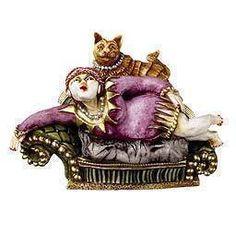 Harmony Kingdom Kiki & Cat     NIB Conversation piece