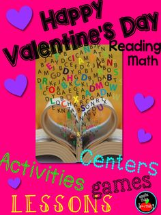 Valentine's Day!  You will LOVE this kit for literacy and math.