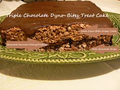 Bonham Business: Triple Chocolate Dyno-Bites Treat Cake