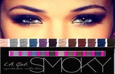 sexsy eyes Smoothest mattes L.A. Girl Beauty Brick Eyeshadow, Smoky, 0.42 Ounce   Health & Beauty, Makeup, Eyes   eBay!