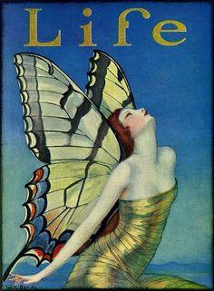 Life Mag-1923  Art by W.T. Benda
