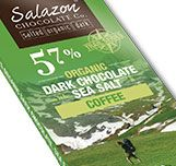 57% Organic Dark Chocolate with Crushed Organic Coffee