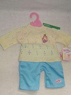Baby Born Kleidung Hose und Pullover  Zapf Creation  801871 NEU  in Spielzeug, Puppen & Zubehör, Babypuppen & Zubehör | eBay!