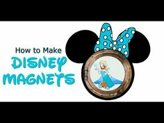 Making Disney Cruise Magnets: Silhouette Cameo