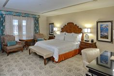 One of our gorgeous guest rooms!  ~ Woolley's Classic Suites, Denver Airport.