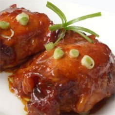 This is SO simple and inexpensive as you use chicken thighs, which are much lower priced. Just coat them with flour, add oj, orange marmalade, soy sauce, garlic and ketchup to the crockpot for the sauce and cook them on low for 4 hours in a crock pot. Yummy! Going to try this for one meal next week. Slow-Cooker Orange Chicken