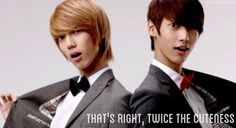 Jo twins from Boyfriend| kpop