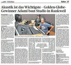 Studio, Acoustic, Culture, Studios