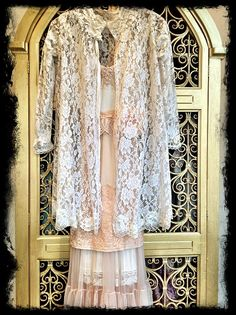 Reserved for Cait lace jacket revived by mermaidmisskristin, $48.00