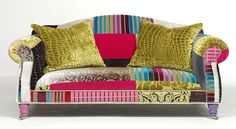 I want a big comfy couch to sit on to do hand sewing, talk to friends, take a nap...I like this old, used look.