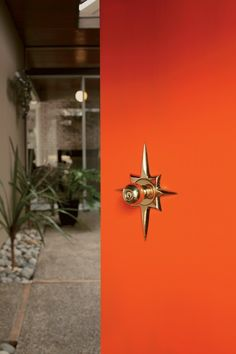 Rejuvenation's new Mid-Century Modern exterior doorsets feature three iconic shapes from the 1950s and 1960s: the star, the square, and the circle.
