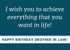Birthday Wishes For Brother In Law Images Brother Quotes, Husband Quotes, Birthday Wishes For Brother, Happy Birthday Quotes, First Love, How Are You Feeling, Feelings, Life, Inspiration