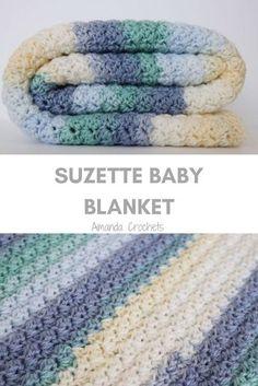 Crochet Quilt, Crochet Blankets, Crocheted Afghans, Crochet Baby Blanket Tutorial, Crochet Projects, Crochet Ideas, Free Crochet, Crochet 101, Crochet Hooks