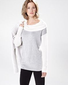 Colour block shawl collar sweater RW&CO. Winter 2014