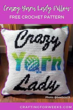 Crochet Pillow Patterns Free, Tapestry Crochet Patterns, Free Crochet, Free Pattern, Circle Pattern, Crochet Cushion Cover, Crochet Cushions, Crochet Blankets, Crochet Afghans