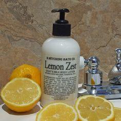 Lemon Zest Goats Milk Lotion