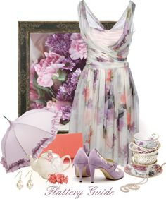 """Angele"" by flattery-guide ❤ liked on Polyvore"