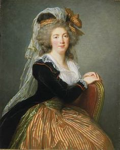 1788 French portrait of Madame Le Couteulx de Molay