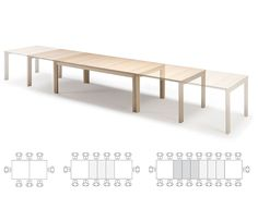 Stunning Long Dining Table Seating Awesome Long Skinny Dining Table Wood