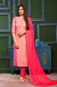 Buy This Daily Wear Gajri Cotton Chikan Work Churidar Suit Online Shopping Salwar Suits Pakistani, Churidar Suits, Salwar Suits Simple, Salwar Suits Party Wear, Suits Online Shopping, Cotton Salwar Kameez, Suit Shop, Cotton Suit, Indian Outfits