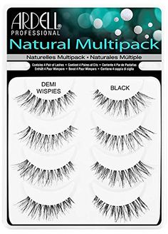 Ardell Demi Wispies Fake Eyelashes Multipack and Revlon Lash Adhesive