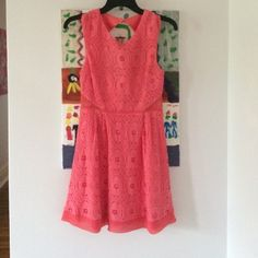Pink Sun Dress Urban outfitters pink sun dress, size 2, open back with sheer cut outs on side. Good condition, worn only a few times. Perfect for the upcoming summer! Urban Outfitters Dresses Mini