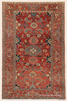 Sorry, This Rug is No Longer Available - Claremont Rug Company Office Rug, Décor Antique, Rug Company, Persian Carpet, Persian Rug, Geometric Rug, Floral Rug, Rugs On Carpet, Carpets