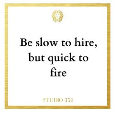 This is a hard pill for many new managers to swallow. Even some seasoned managers have a hard time accepting this. The reason, their emotions are tied up in the hire, and they want to avoid the perception of failure.⠀ ⠀ People are loss-averse. Even when we know that there are better options or that the option we have no longer works, we still hold on. Studying people's investment behavior will shed light on this practice.⠀ ⠀ People also gravitate quickly to stimuli and situations that make…