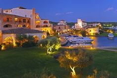 Hotel Cala di Volpe, Costa Smeralda. Win a $300,000 Aston Martin Vantage or a trip to England & Portugal, staying in two hotels featured in James Bond movies, valued at up to $10,000! http://promotions.drive.com.au/s3/AstonMartin?source=HTCFacebook
