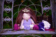 I'll be watching this... How about you? This cute OOAK Princess and the Pea set is up for auction today!