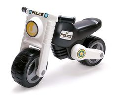 Little heroes will love zooming around and catching bad guys in this law enforcement-inspired scooter. Kids Birthday Presents, Kids Police, Go Kart, Sale Items, Motorbikes, Kids Toys, Monster Trucks, Motorcycle, Black And White
