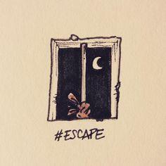 #inktober #inktober2016 #escape #jail