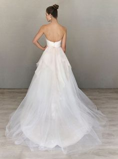 Alvina Valenta ball gown / Back View