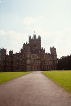 Highclere Castle {Downton Abbey}